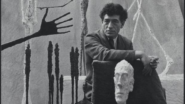 Alberto Giacometti, 1951. Fotografía de Gordon Parks
