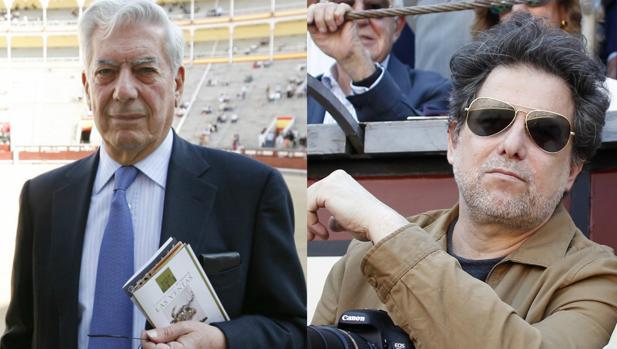 Mario Vargas Llosa y Andrés Calamaro, en la Monumental de las Ventas