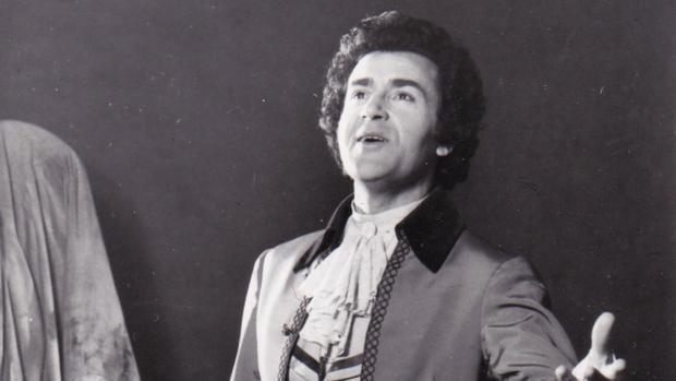 Franco Bonisolli como Mario Cavaradossi en «Tosca» en la Ópera de Viena