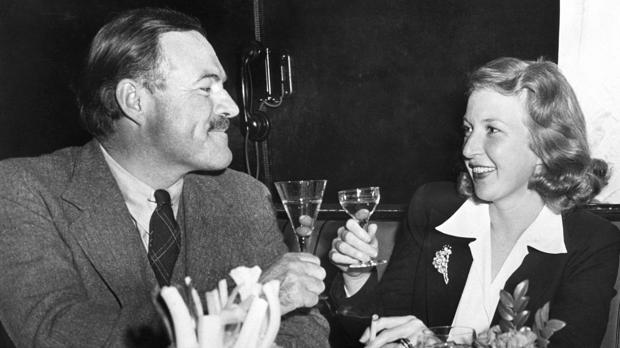 Ernest Hemingway y Martha Gellhorn