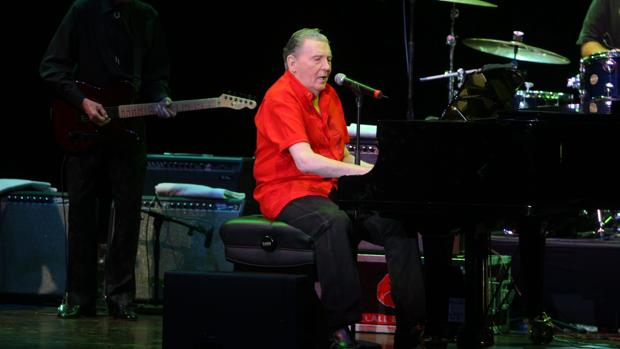 Jerry Lee Lewis, en un concierto en Madrid en 2009