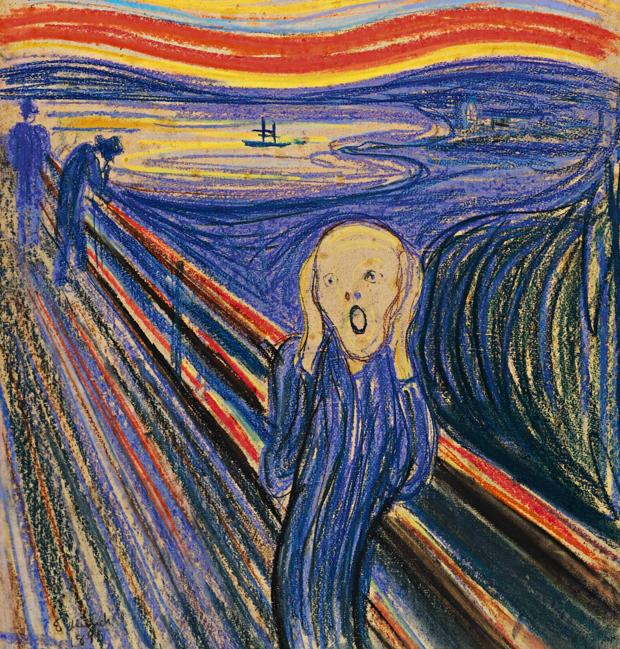 Munch se inspiró en una momia peruana para pintar «El grito»