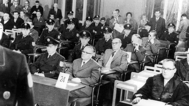 Una imagen de los juicios de Fráncfort
