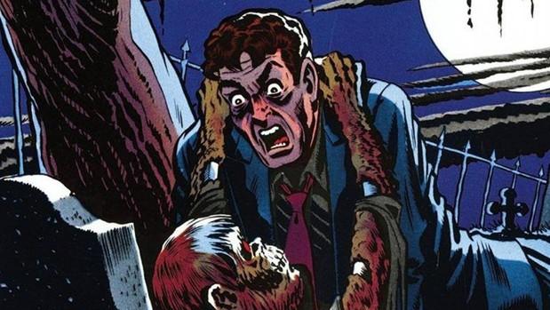 Una de las viñetas de «The Tales from the Crypt»