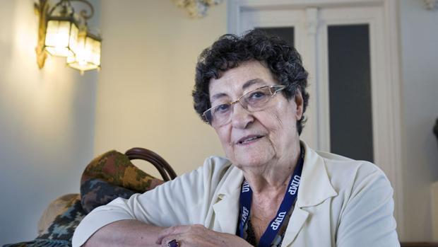 Francisca Aguirre, en una imagen de archivo