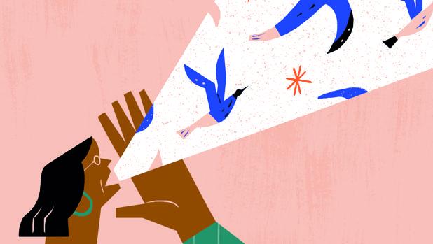 Ilustración de Laura Liedo que representa el auge del discurso populista