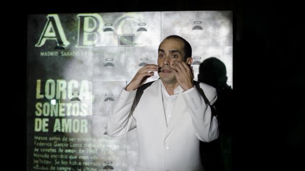 Javier García Ortega en «Amor oscuro (Sonetos)»
