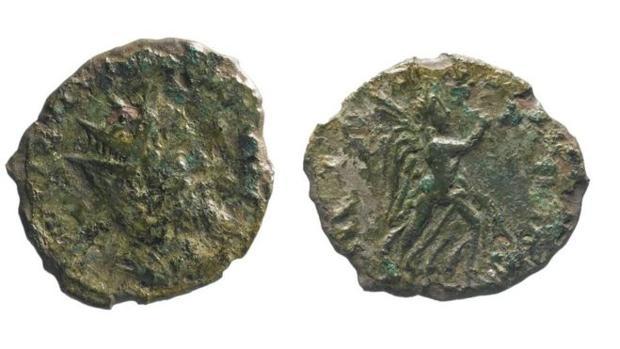 La moneda de Leliano encontrada en el Reino Unido