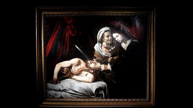 «Judith y Holofernes», atribuida a Caravaggio
