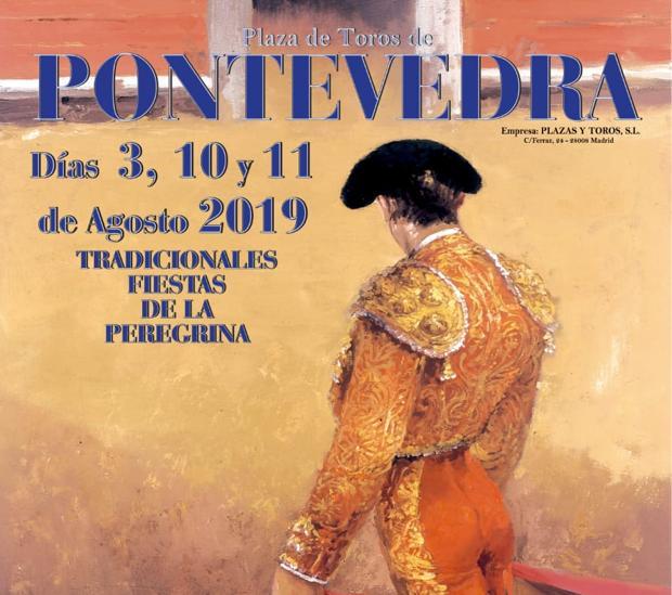 Carteles De La Feria De La Peregrina De Pontevedra De 2019