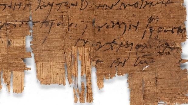 El papiro, nombrado «P.Bas. 2.43» y bajo custodia de la Universidad de Basilea desde hace más de cien años