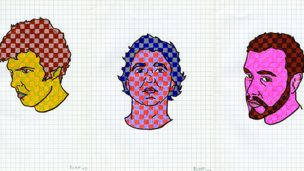 «Pixeladas», uno de los dibujos del colectivo, de 2002