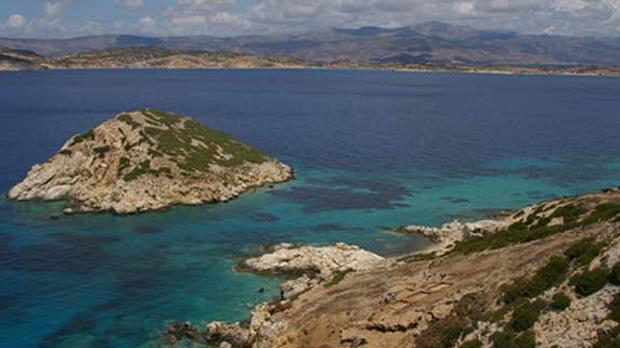 El islote griego de Daskalio