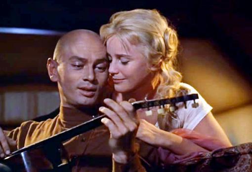 Yul Brynner y Maria Schell en «Los hermanos Karamazov»