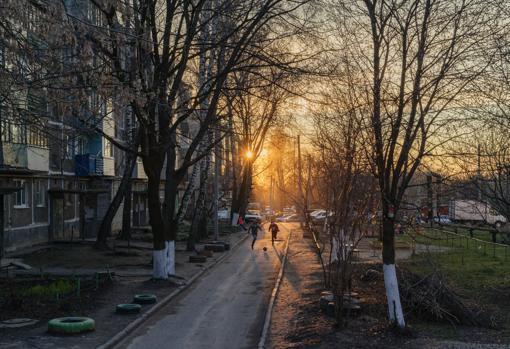 Foto de Dmitry Lookianov en el Museo Ruso
