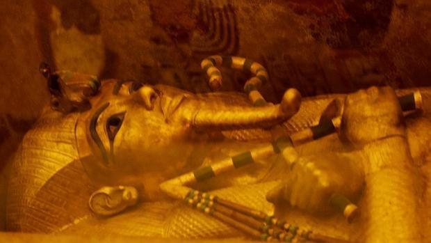 El sarcófago dorado de Tutankamón