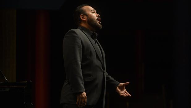 Javier Camarena, durante el recital