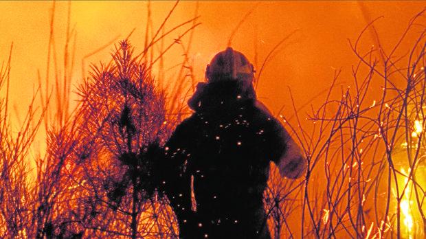 Una de las escenas incendiarias de «O que arde»
