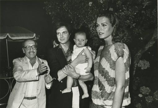 José Luis López Vázquez, Camilo Sesto y Bibi Andersen