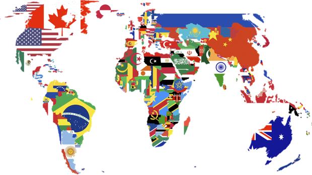 banderas paises del mundo con nombres