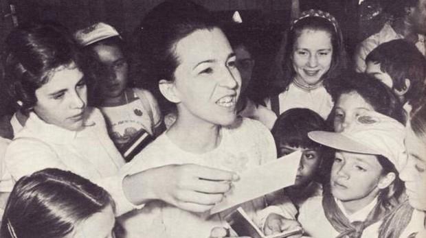 L. Zhivkova, Ministra de Cultura de Bulgaria en los 70 y 80