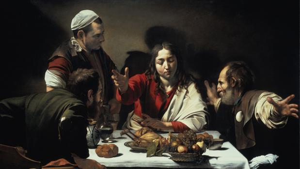 «Los discípulos de Emaús», de Caravaggio