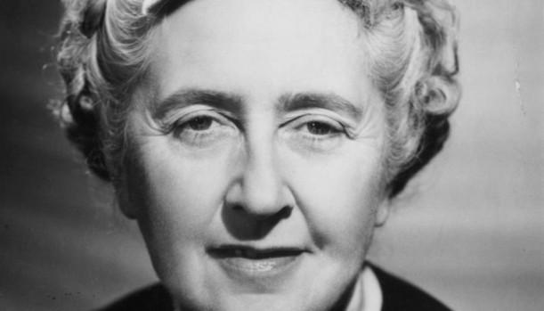 Retrato de Agatha Christie en edad madura