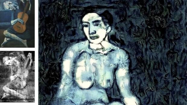 «Un Picasso nunca visto»: la inteligencia artificial reconstruye un boceto oculto por el propio artista