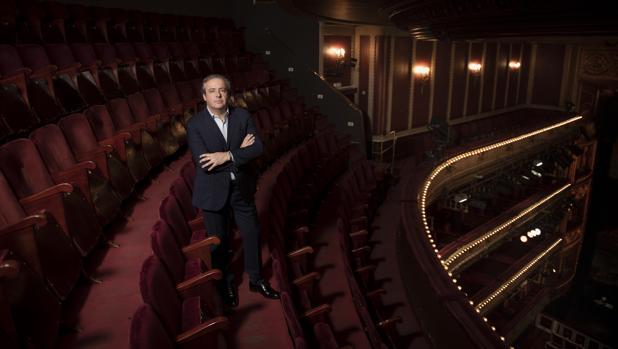 Juanjo Mena, en el Teatro de la Zarzuela