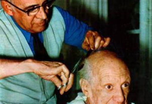 Eugenio Arias, que fue más que el barbero del pintor malagueño