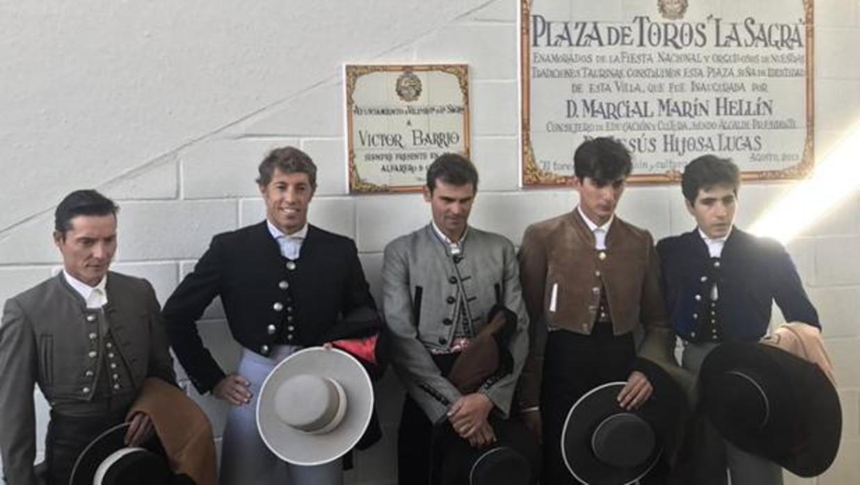 Los toreros que participaron en el Memorial