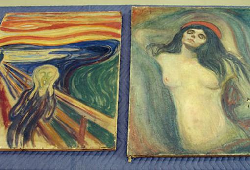 «El Grito» y «Madonna», de Munch, fueron recuperados tras su robo en el Museo Munch de Oslo
