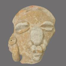 Figura manteña hallada en Ligüiki