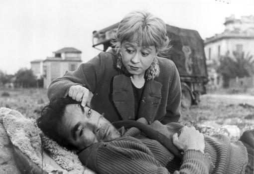 «La Strada» (1954). Anthony Quinn y Giulietta Masina, los inolvidables Zampanò y Gelsomina