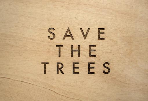«Save the trees 4»
