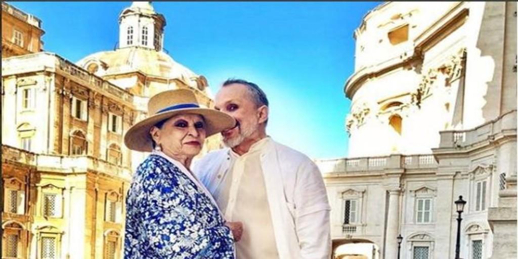 La emotiva despedida de Miguel Bosé a su madre Lucía Bosé: «Ya está en el mejor de los sitios»