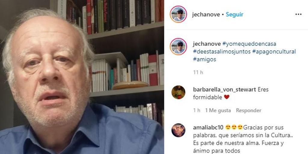 Juan Echanove estalla contra Rodríguez Uribes: «¡Ya no eres mi ministro de Cultura!»