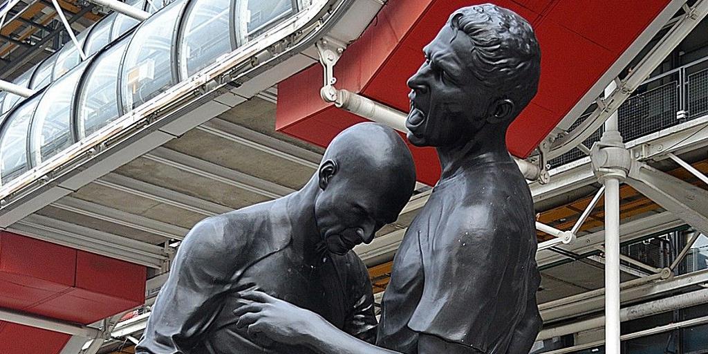 Un cabezazo de Zidane puede ser arte