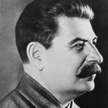 Fotografía de Stalin en 1942.