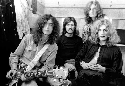Led Zeppelin en 1970