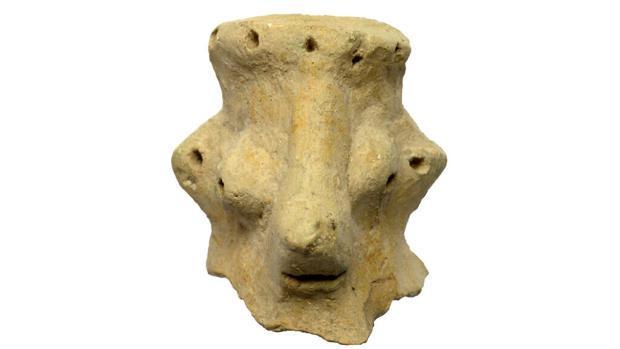 Cabeza de Khirbet Qeiyafa, siglo X a. C