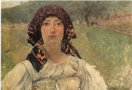 «Campesina italiana» (1890)