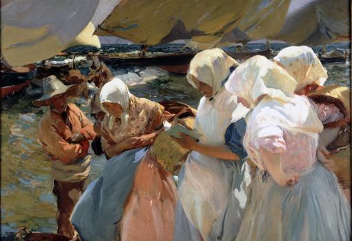 «Pescadoras valencianas» (1903)