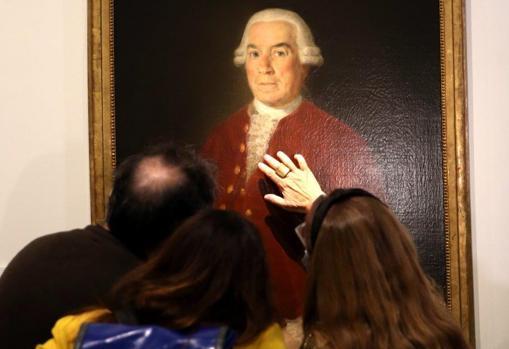 José de Toro-Zambrano, primer director del Banco de San Carlos, retratado por Goya