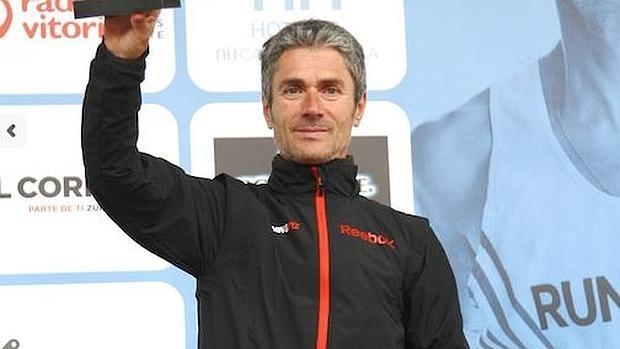 Martín Fiz, en una imagen del año pasado