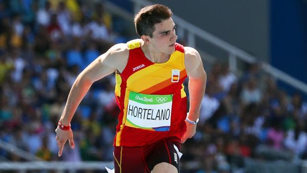 Bruno Hortelano en acción durante los Juegos de Río