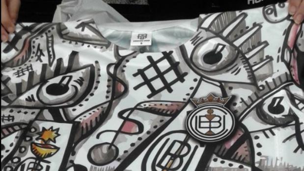 La llamativa camiseta del Conquense para conmemorar su 70 aniversario