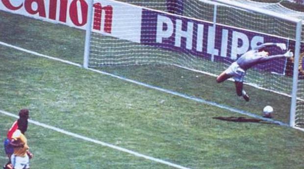 Histórico gol de Míchel a Brasil durante el Mundial de 1986 que no subió al marcador