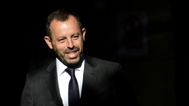 Sandro Rosell, expresidente del Barcelona, en una imagen de 2014
