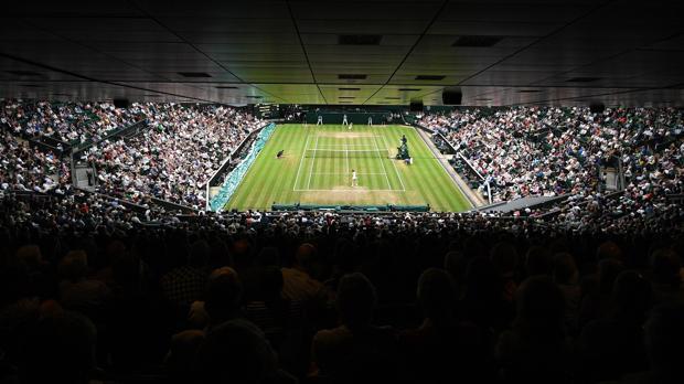 Pista central del All England Tennis Club